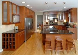 Cherry Shaker Kitchen Cabinets Kitchen Room Stunning Interior Home Kitchen Remodeling Cherry