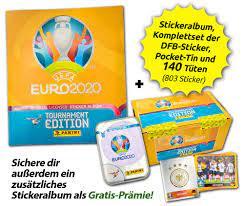 UEFA EURO 2020™ | Offizielle Stickerkollektion