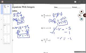 two step equations with fractions worksheet kuta ws