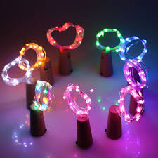 Battery Operated Christmas Lights Us 1 48 10 Off 2m 20leds Led Copper Wire Fairy String Lights Battery Operated Christmas Lights Holiday Wedding Party Decoration Garland Strips In