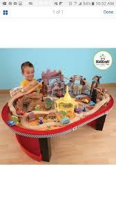 kidkraft disney cars radiator springs race track set table by kidkraft baby kids in orlando fl offerup