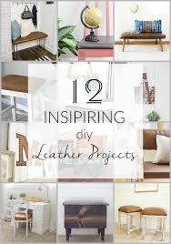 12 inspiring diy leather project ideas and tutorials monthlydiychallenge