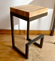 metal furniture designs. great side table design using reclaimed wood and steel simple lines with so much potential metal furniture designs
