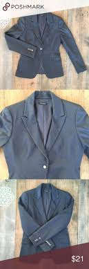 Tahari Outerwear Size Chart Tahari Gray Casual Blazer Medium Tahari Gray Casual Blazer