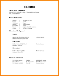 Examples Of References For Resume References On Resume Format 24 Reference Resume Format Resume 11