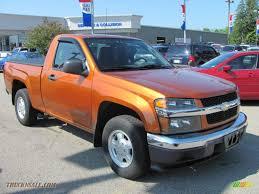 2004 Chevrolet Colorado LS Regular Cab in Sunburst Orange Metallic ...