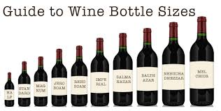 Guide To Wine Bottle Sizes Wine Blog