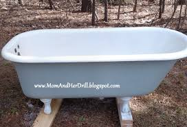 clawfoot tub used s markings cast iron for vintage large claw foot bath resurfacing perth