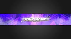 Youtube Photoshop Design 2560x1440 Clean Simple Blue Youtube Banner Template