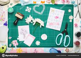 Paper Flower Cutting Tools Paper Flowers Homemade Card Tools Scrapbooking Green Mat Cutting