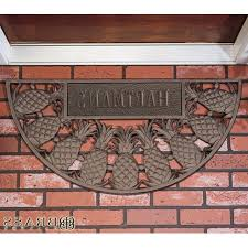 personalized front door matsPersonalized Front Door Mats