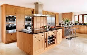 Oak Kitchen Contemporary Kitchen Solid Wood Wooden Island Oak
