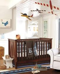 Delightful Airplane Themed Nursery