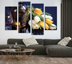 4 pc canvas wall art