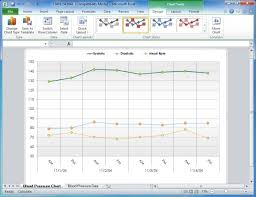 How To Graph Blood Pressure On Excel Create Your Blood Pressure Chart With Free Excel Template