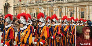 Image result for Swiss Guard Arrives at the Vatican (1506)