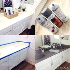 painted bathroom countertops painted bathroom sink makeover flying south featured on do it for you paint bathroom painting laminate bathroom countertops