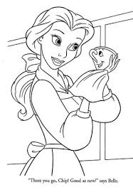 Disney princess and animals coloring pages to kids free disney princess coloring pages with animals picture, animals is a good friend cartoon princess in the story. Belle Coloring Pages