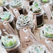 We love these DIY succulent favors & so much more in this gorgeous rustic  wedding