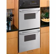 double wall oven stainless steel