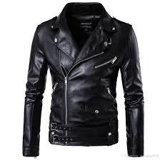 2017 black moto leather jackets for men short cool best designer faux leather blazer mens casual fashion slim coats biker jacket mens coats with hoods