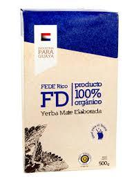 Чай <b>Мате</b> Fede Rico <b>Organica</b> (Парагвайский Органический) <b>500г</b> ...