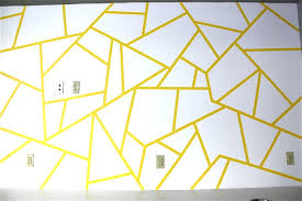 wall designs with tape painters
