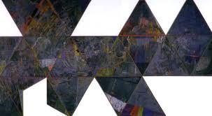 jasper johns 1967 painting map based on buckminster fuller s dymaxion airocean world 668 368