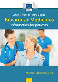 Information for patients: <b>What I need</b> to know about biosimilar ...