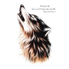 1 шт Wild тела арт волк водонепроницаемый временные татуировки наклейки флеш тату