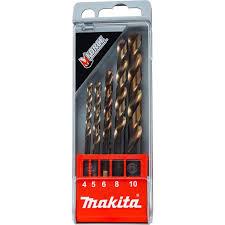 Набор <b>сверл</b> по <b>металлу Makita</b> D-30508 4-10 мм купить по цене ...