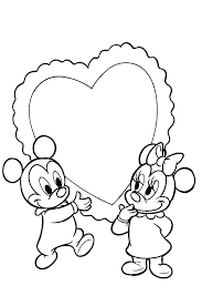 Minnie Baby Da Colorare Minnie Mouse Coloring Pages Z Coloring Page