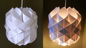 diy paper lamp lantern cathedral light how to make a pendant light out of paper ezycraft you
