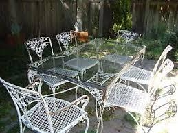 vintage wrought iron garden furniture. Smartness Inspiration Vintage Wrought Iron Patio Furniture 1950s Antique Ebay History Garden G