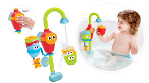 bath toys for babies toddlers yookidoo flow n fill spout