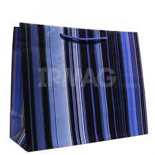 <b>Пакет подарочный</b> Санвест Синие полоски (<b>32</b> х <b>26 х 12 см</b> ...