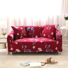 Washable Stretch Printed Sofa Cover 1234Seat Fabric Printed Fabric Sofas51