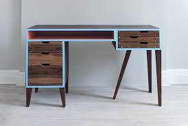 Charming Mid Century Modern Desk For Modern Middle Room Design Ideas: Mid  Century Modern Desks