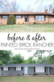 make a brick rancher house step by step