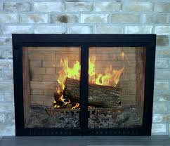 dulley glass fireplace doors home decor by reisa