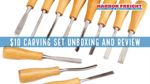 Windsor Design Chisels Harbor Freight Carving Chisel Set Unboxing And Review