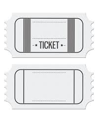 Invitation Ticket Template Blank Movie Ticket Invitation Template Escort Place Cards And 11