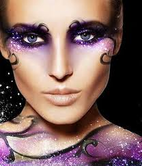 i would like to portray royalty power using the colors in a flaunting bold fantasy make upexotic