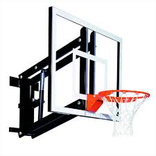goalsetter gs48 adjule wall mount basketball goal