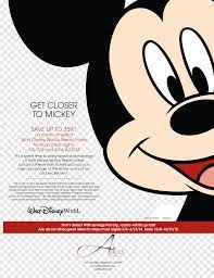 Walt Disney World Mickey Mouse The Walt Disney Company Travel Graphic design,  disney pluto, heroes, text png