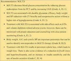 Insulin Comparison Chart 2017 Pdf Evidence Based Consensus On Positioning Of Sglt2i In Type 2