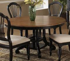 wilshire round oval dining table rubbed black