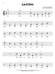Beauty And The Beast Recorder Fun Presto Sheet Music
