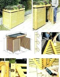 outdoor garbage can storage bin outside trash storage best garbage can storage ideas on garbage trash outdoor garbage can storage bin