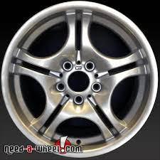 17x8 5 Bmw 320i Wheels Oem 2001 2005 Silver Rims 59345